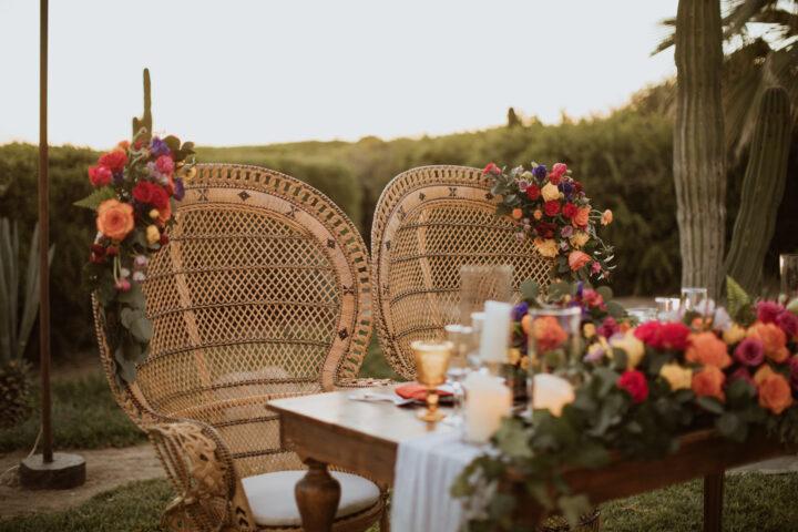 Boho Mexican Style Wedding