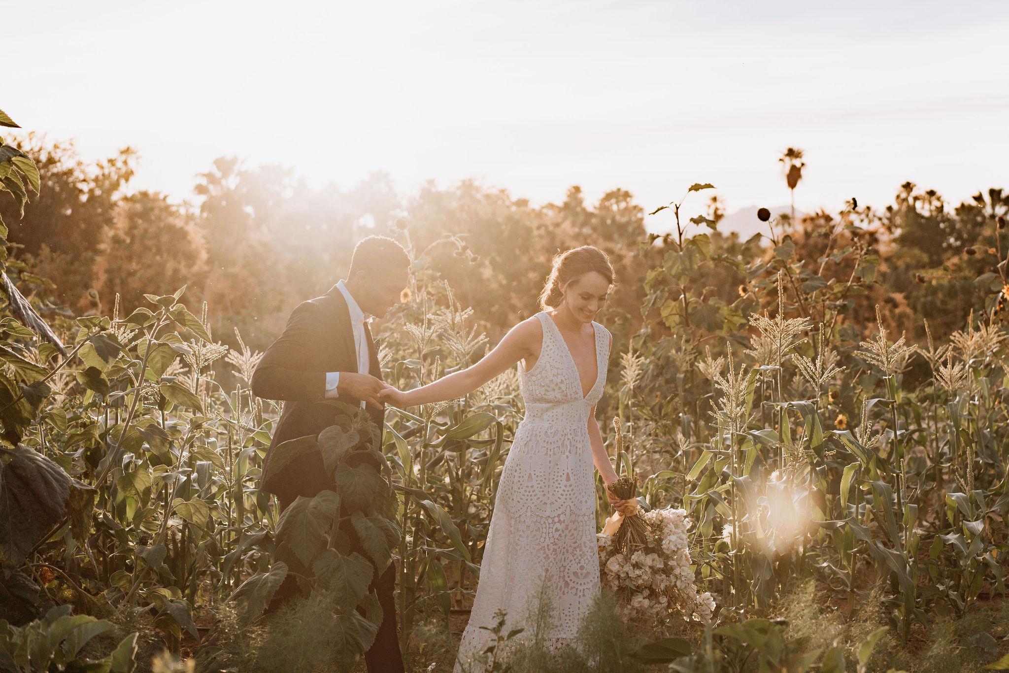 Wedding in Flora Farms